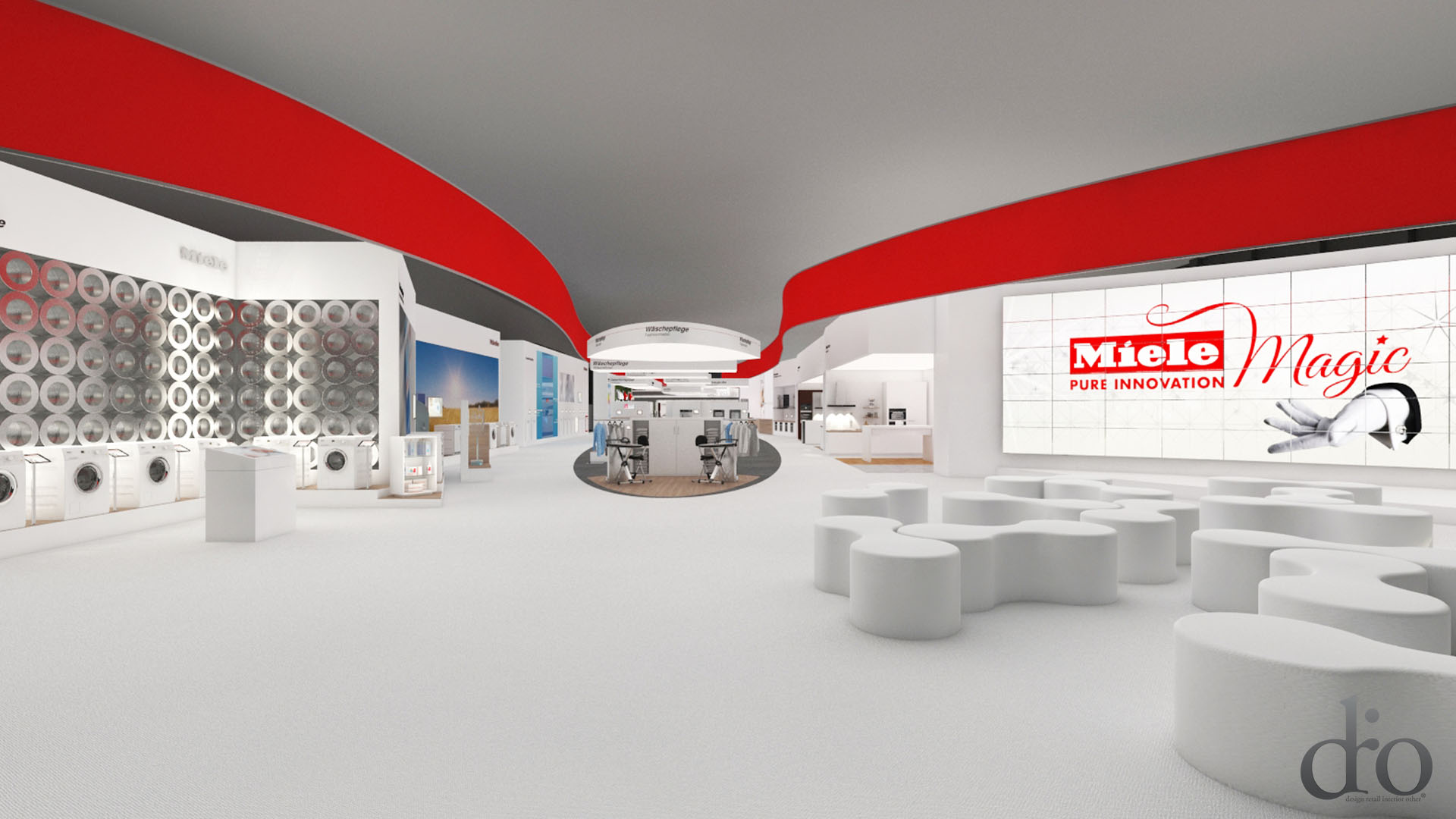 Messedesign & Exhibition Visualisierung mit Drio Design - Innenarchitekt